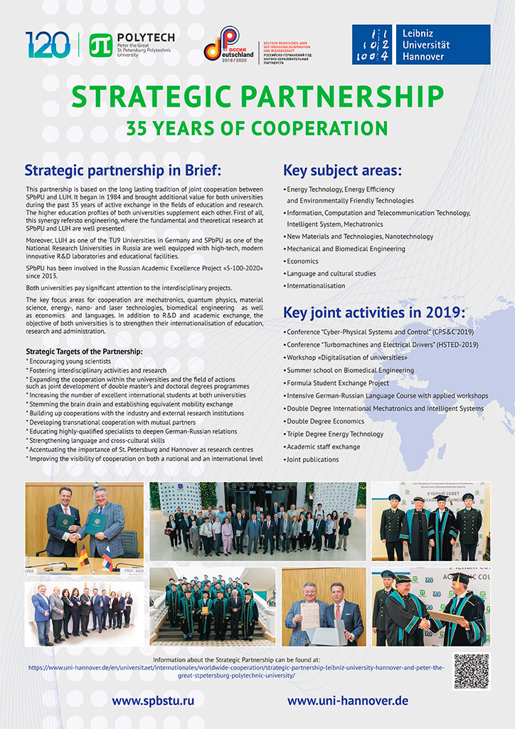 Strategic Partnership 35 years of cooperation
